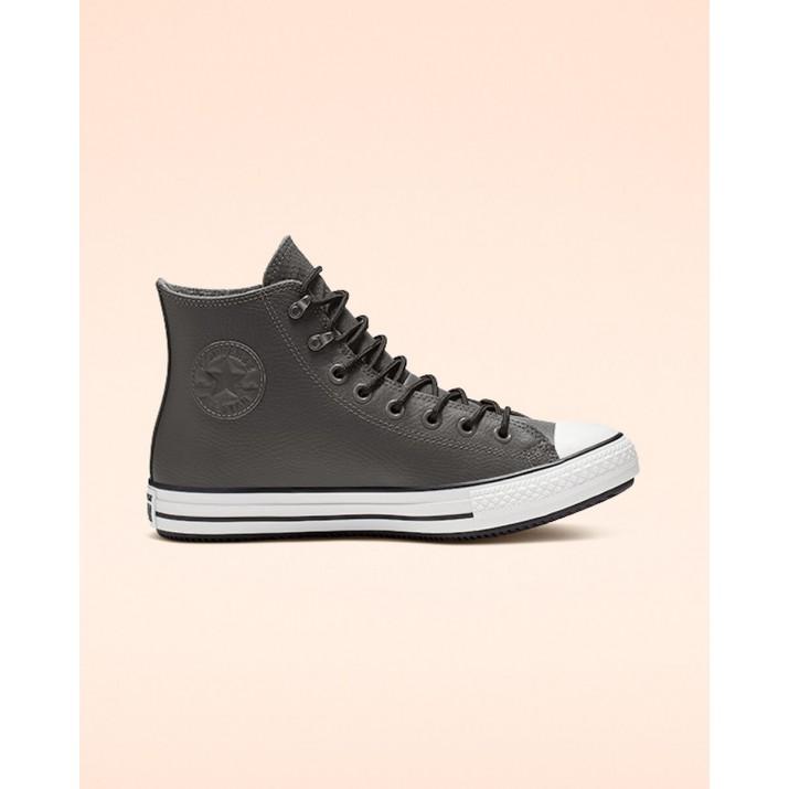 Zapatillas Converse Chuck Taylor All Star Hombre Gris Oscuro/Negras/Blancas 069EWHTE
