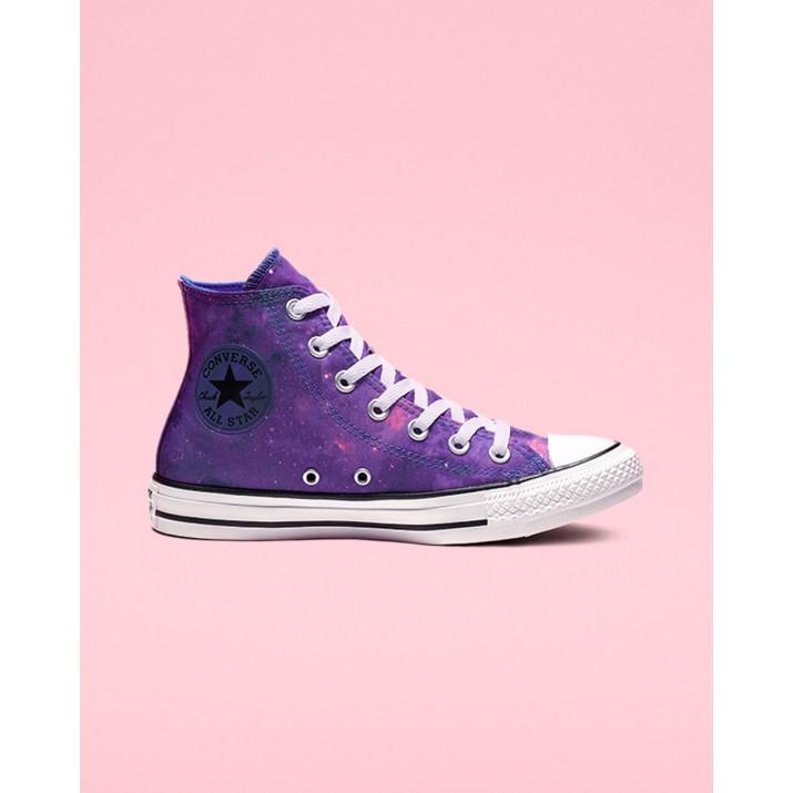 Zapatillas Converse Chuck Taylor All Star Mujer Azul Real/Rosas/Blancas 104LXWQL