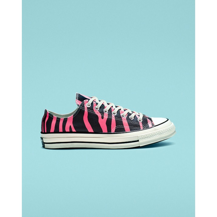 Womens Converse Chuck 70 Shoes Black/Pink 105ITMWB