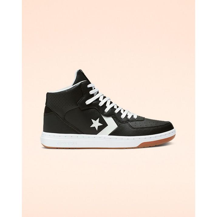 Zapatillas Converse Rival Hombre Negras/Blancas 129ZLSQD
