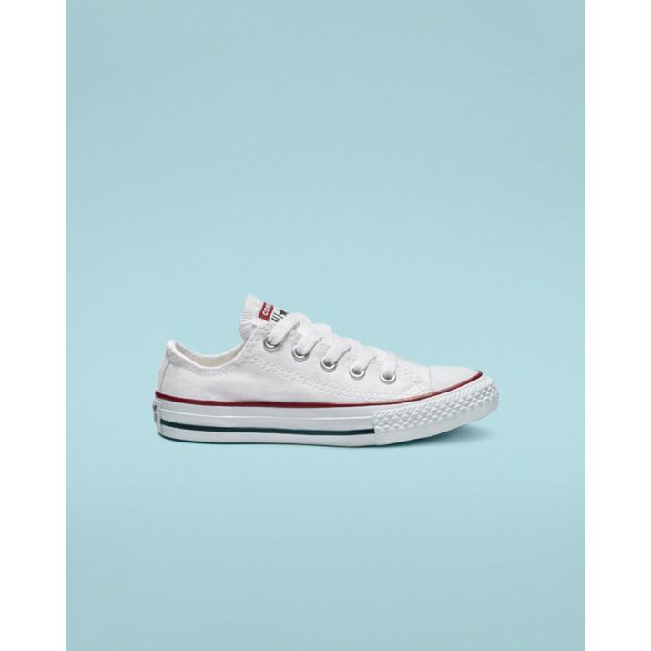 Kids Converse Chuck Taylor All Star Shoes White 142DPFZC