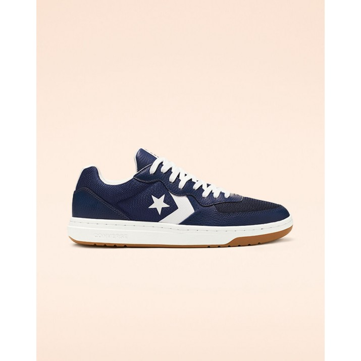 Womens Converse Rival Shoes Navy/White 149EOAYA