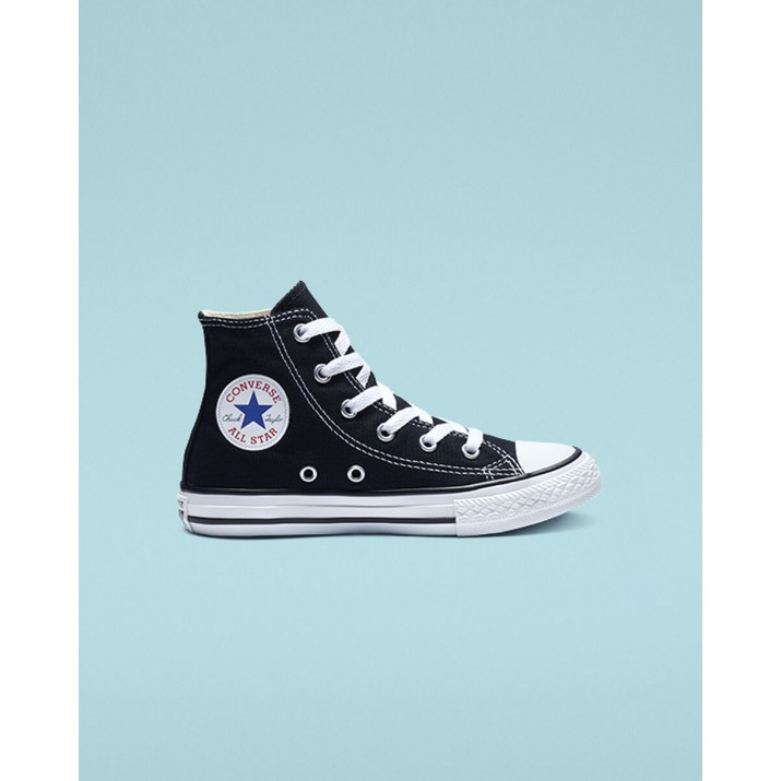 Kids Converse Chuck Taylor All Star Shoes Black 160YQGEO