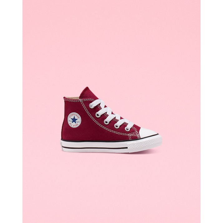 Kids Converse Chuck Taylor All Star Shoes Burgundy 173CUFRD