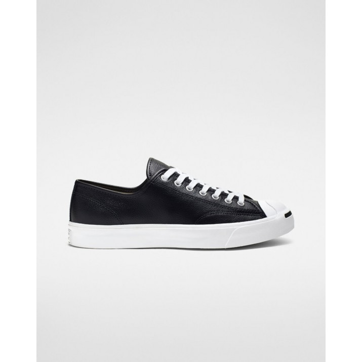 Mens Converse Jack Purcell Shoes Black/White 175WHRGB
