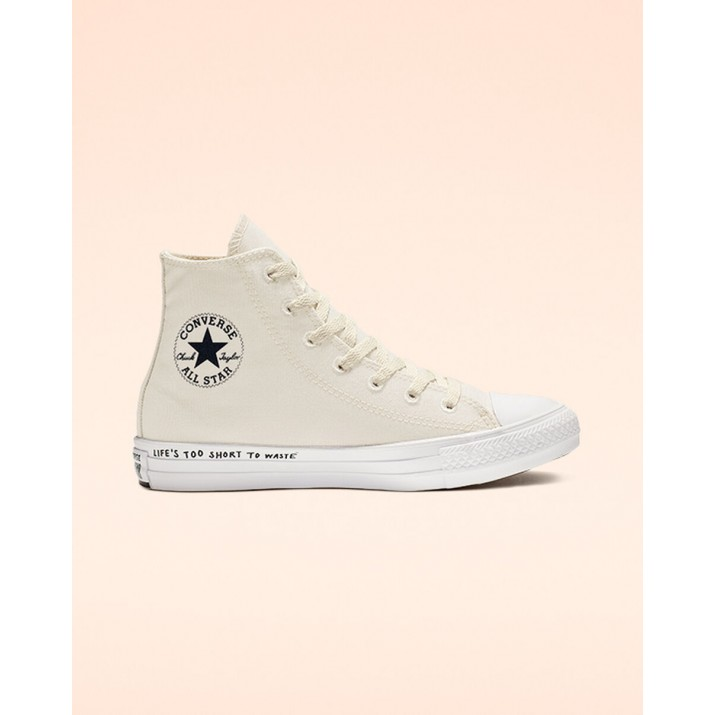 Zapatillas Converse Chuck Taylor All Star Hombre Negras/Blancas 176TYVKP