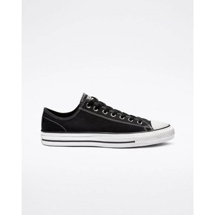 Womens Converse Ctas Pro Shoes Black/White 178PLCZD