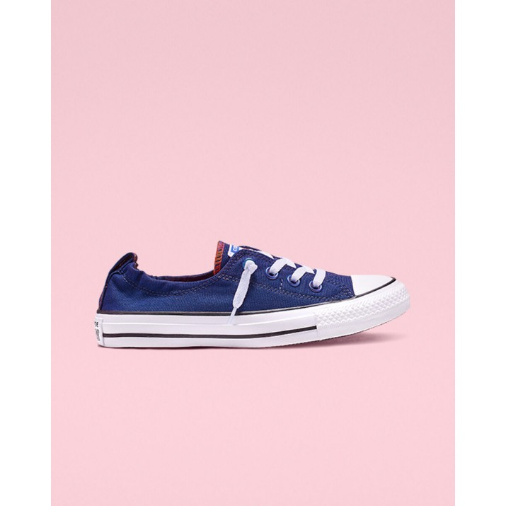 Womens Converse Chuck Taylor All Star Shoes Blue/White/Black 188QRFJB