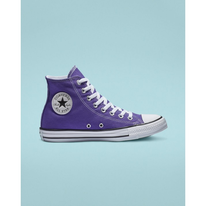 Womens Converse Chuck Taylor All Star Shoes Purple 221ZKYGH