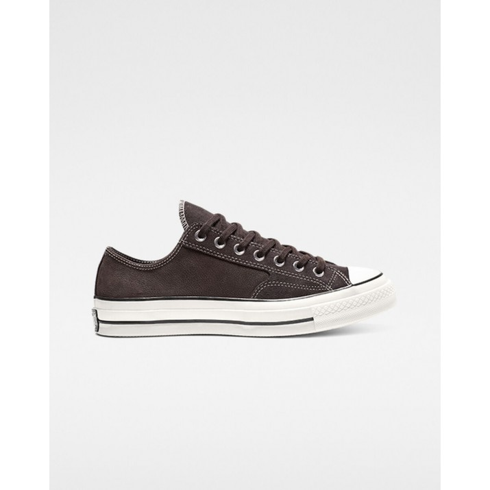Womens Converse Chuck 70 Shoes Brown/Black 250HNWVB