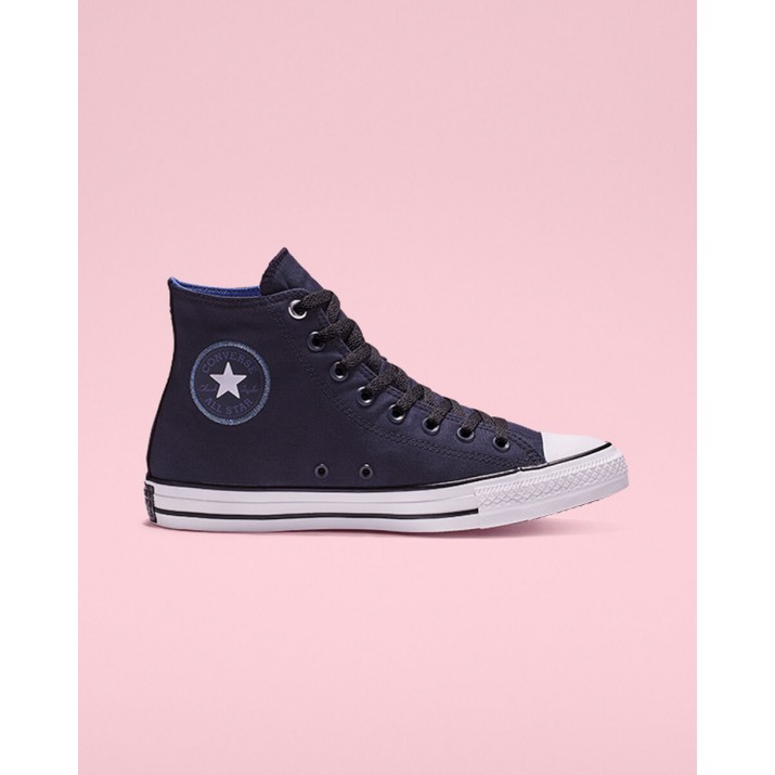 Womens Converse Chuck Taylor All Star Shoes Obsidian/Black/White 310OZBIH