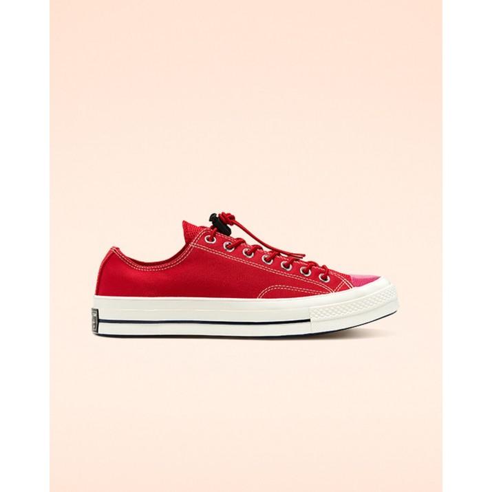 Womens Converse Chuck 70 Shoes Red/Black 313BUVGA