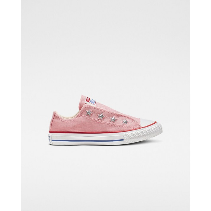 Kids Converse Chuck Taylor All Star Shoes Pink/Red 356LBREV