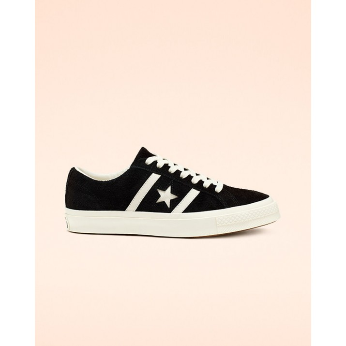 Mens Converse One Star Shoes Black 385HOTJZ