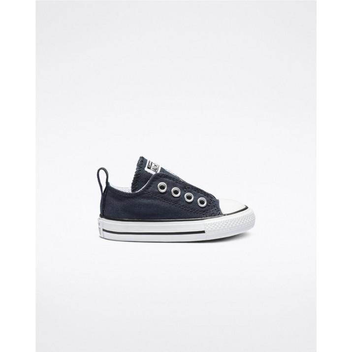 Kids Converse Chuck Taylor All Star Shoes Navy 434PEMCC