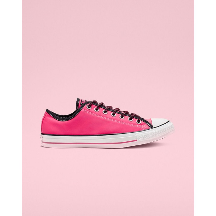 Womens Converse Chuck Taylor All Star Shoes Pink/Black/White 448BULSM