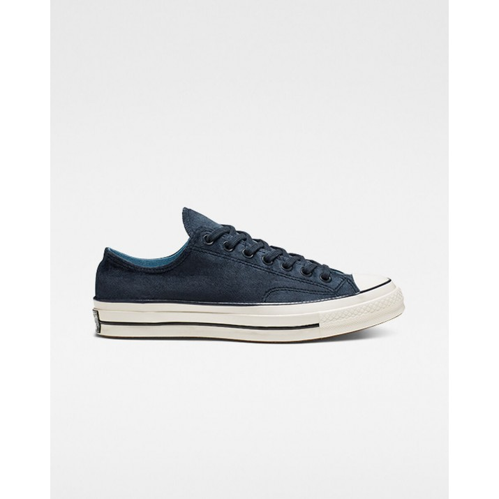 Womens Converse Chuck 70 Shoes Dark Obsidian/Black 511AXXJF