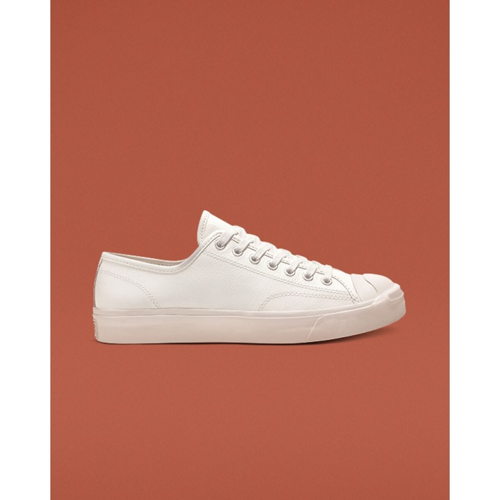 Womens Converse Jack Purcell Shoes White/White 517SYROP