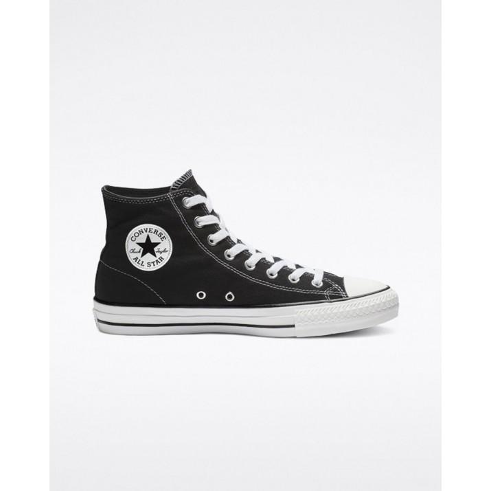 Womens Converse Ctas Pro Shoes Black/White 564KPEMY
