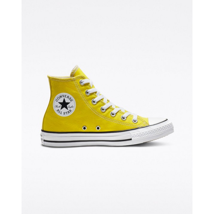 Womens Converse Chuck Taylor All Star Shoes Yellow 577GKUKL