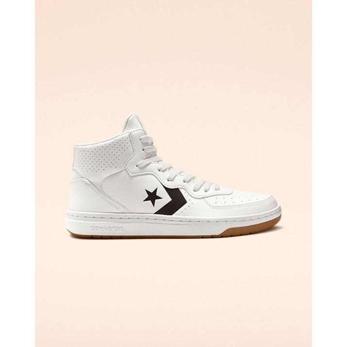 Mens Converse Rival Shoes White/Black/White 577GQJKQ
