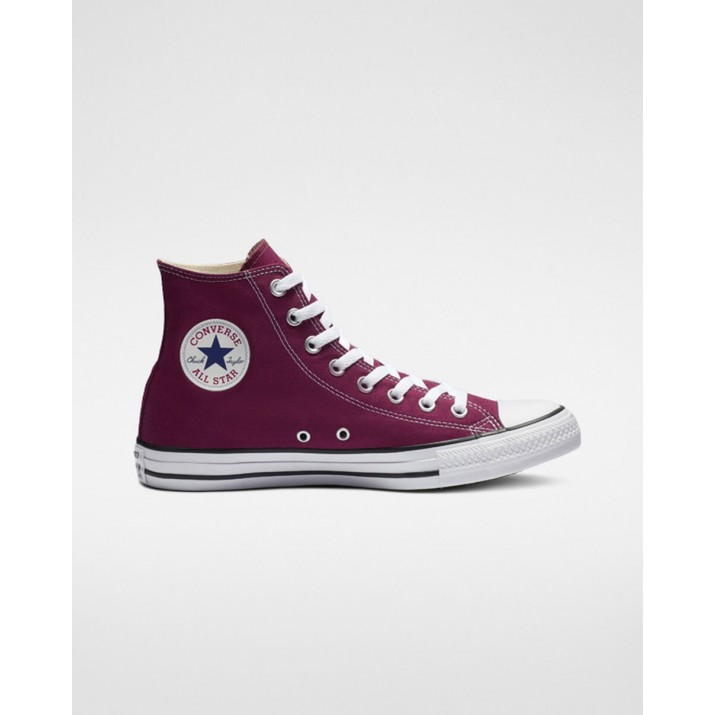 Mens Converse Chuck Taylor All Star Shoes Burgundy 679ZBOLJ