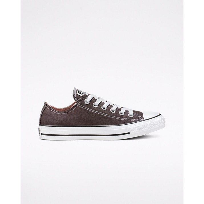 Womens Converse Chuck Taylor All Star Shoes Dark Brown 694VKXZK