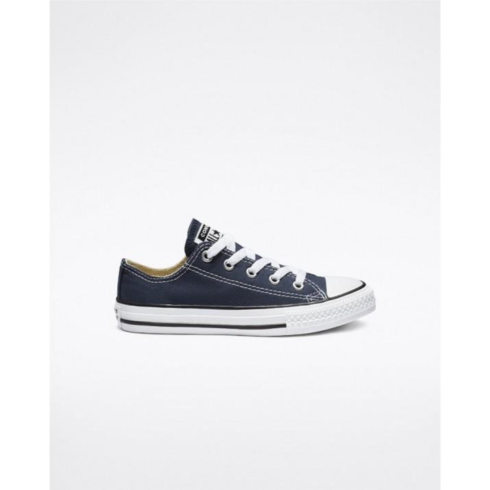 Kids Converse Chuck Taylor All Star Shoes Navy 788LJXTD