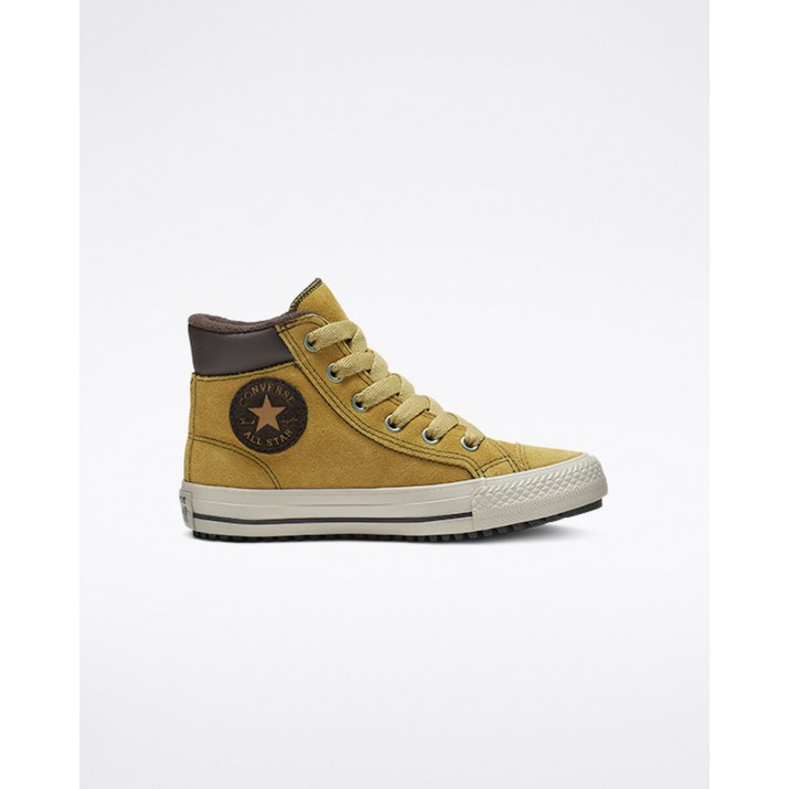 Kids Converse Chuck Taylor All Star Shoes Brown 829DLGTJ