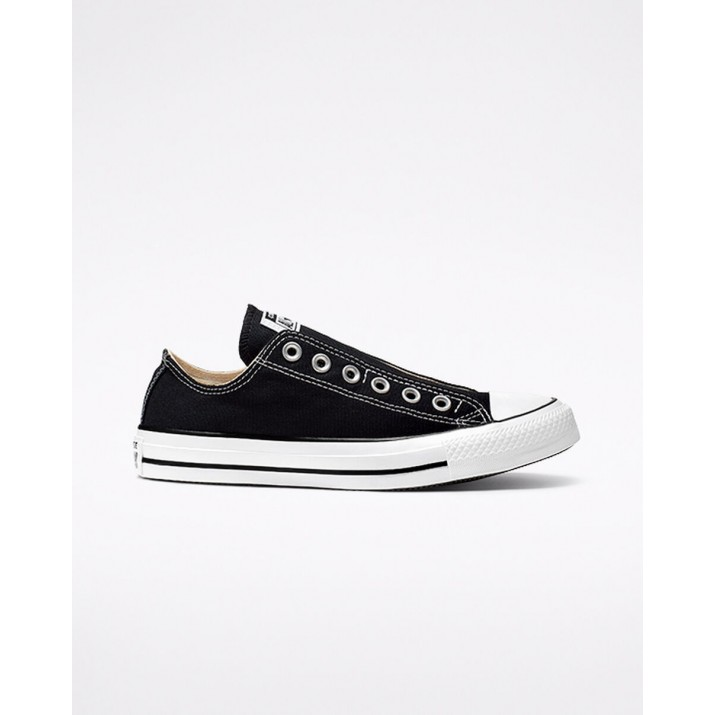 Mens Converse Chuck Taylor All Star Shoes Black/White/Black 882QUPZQ