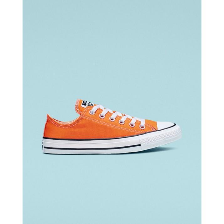 Womens Converse Chuck Taylor All Star Shoes Orange 892XEQPN