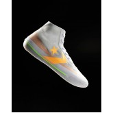 Mens Converse All Star Pro Basketball Shoes White/Orange 940VUZBK
