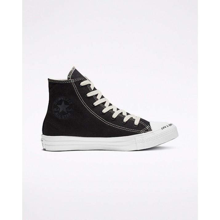 Zapatillas Converse Chuck Taylor All Star Mujer Negras/Blancas 957UTTNY