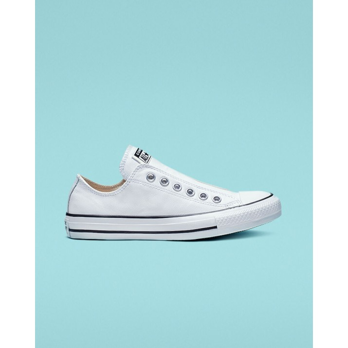 Mens Converse Chuck Taylor All Star Shoes White/Black 965YWWTV